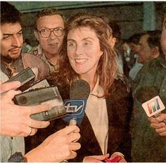 Laura Branigan 1996, arrives to Chile