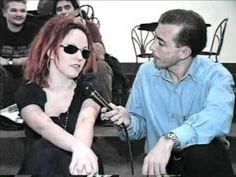 Erika Palomino 30-07-1997, entrevista com Francisco Chagas no Over Fashion