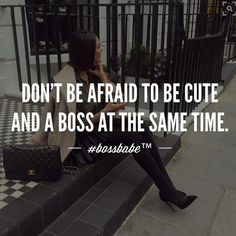 This doesn't have to be binary. Don't let your femininity feel like it has to discredit the smart business minded person you are. We're tired of that. We're blurring the lines. Go ahead and be the full package. It will intimidate others but don't worry we've got your back.  Join the #Bossbabe Netwerk (Click The Link In Our Profile Now! ) women in business, women business owners