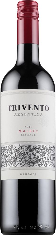 Trivento Reserve Malbec 2015 * Just Wine, Red Wine, Alcoholic Drinks, Bottle, Glass, Liquor Drinks, Alcoholic Beverages, Drinkware, Flask