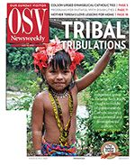 The May 13, 2012, issue of OSV Newsweekly is online. Our In Focus section this week details Faith formation resources available to Catholics with disabilities ... Mother Teresa & motherly wisdom ... Pope Benedict on the environment ... legal aid for Catholics ... much more!