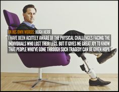 MUST READ: Hugh Herr discusses his personal connection with the victims of the Boston Marathon Bombing who lost limbs and how his revolutionary technology for prosthetics will help them recover: http://nyti.ms/1fgsJEW via New York Times