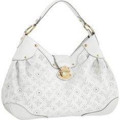 Louis Vuitton M93128 Handbag Solar GM White