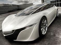 Acura GSX, Virgin Galactic, Spaceport, Futuristic Car