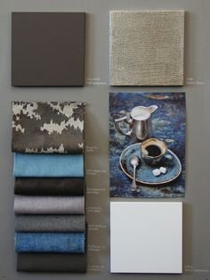 Finding inspitation for moodboards #MERIDIANI_Fabric #Moodboard