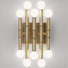 Meurice 5-Arm Wall Sconce by Jonathan Adler for dining room