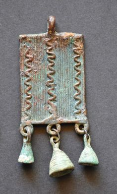 Amlash bronze pendant 13, 1st millenium B.C. Private collection