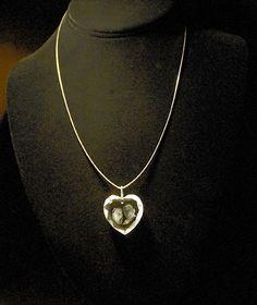 Crystal Heart Pendant  $59  Custom Jewlery