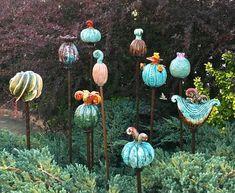 Garden decor Yard decor Garden stake Garden sculpture