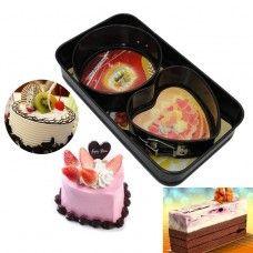 High Quality Non Stick 3pcs Cake Bakeware set