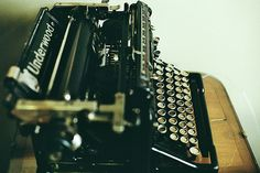 Underwood What do pop culture favorites Murder, She Wrote, Whatever Happened to Baby Jane, and Moulin Rouge have in common? Their main characters all wrote on an Underwood typewriter. Writer for hire: www.whytheoatmeal...