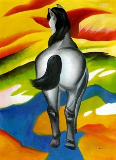 Franz Marc Blue Horse II