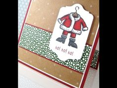 Happily Ever Crafter: Merry Monday #4; Get Your Santa On