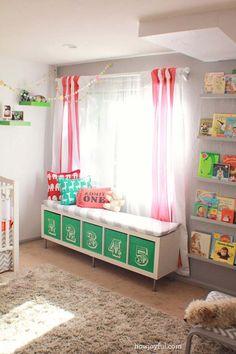 19 schlaue Tipps das Zimmer deiner Kinder ordentlich zu organisieren! - DIY Bastelideen
