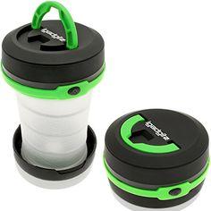 igadgitz 3 en 1 Pop Up LED Linterna camping + Flashlight + Strobe