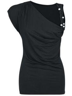 22,99 € Naisten T-paita - Plaited Strap -girlie-paita, S