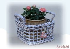 děrovaný košík (růže)