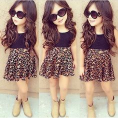 Now I want a girl - Kids Fashion Baby Outfits, Outfits Niños, Little Girl Outfits, Cute Outfits For Kids, Little Girl Fashion, Baby Girl Dresses, Toddler Fashion, Toddler Outfits, Baby Dress