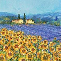 Van Gogh sunflower..