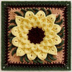 Ravelry: The Crocodile Flower pattern by Joyce Lewis