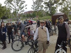 Tweed Ride Madrid 2013