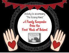 The Kissing Hand Poem: A Family Keepsake from the First Day of School Kissing Hand Poem, First Day Of School, Back To School, School Subjects, Product Offering, School Classroom, Teacher Newsletter, Teacher Pay Teachers