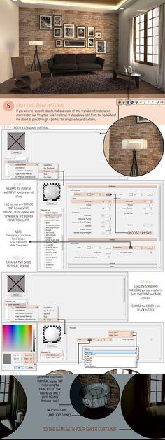 SketchUp Tutorial Part 2: VRAY MATERIALS AND TEXTURES Full Article At…