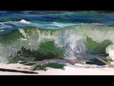 Как рисовать море. Видео урок по живописи маслом. - YouTube