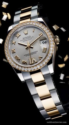 Rolex Oyster Perpetual Datejust Lady 31 mm in yellow gold and steel (ref. 178383)