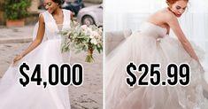 Wedding Dress Quiz, Wedding Dress Prices, Wedding Dresses, Most Expensive Wedding Dress, Expensive Dresses, Fun Quizzes To Take, Melissa Sweet, Wedding Expenses, Mermaid Silhouette