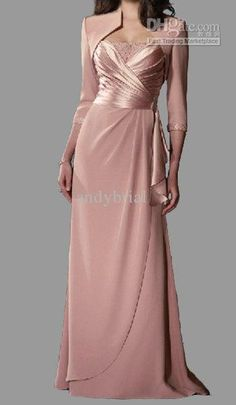 81d09cace64 New Exquisite Modern Mother Of The Bride Dresses With Jacket Sling Beaded  Ankle Length