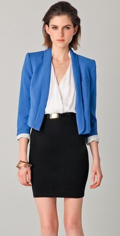 power dressing for the office.