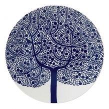 Royal Doulton Fable Accents Blue Tree Tea Plate 22cm