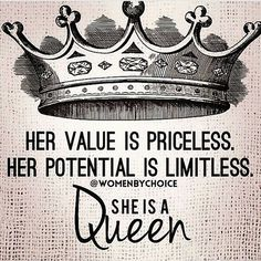 Description of an updated queen something from a dream #LadiesFirst #Queen