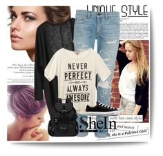 """""""The Bella"""" by anonymousleaf ❤ liked on Polyvore featuring rag & bone, Wet Seal, Converse and Sherpani"""