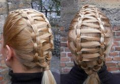 Princess Piggies: Friday's Film: Knotted Ladder. Great blog on kids hair!!!