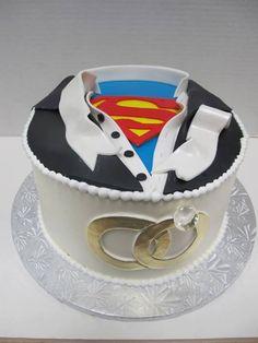 Starr Starr Porras III : How about something like this for a groom's cake? Wedding Sweets, Wedding Themes, Wedding Ideas, Cake Wedding, Wedding Dresses, Wonder Woman Wedding, Minions, Superman Wedding, Alternative Wedding Cakes