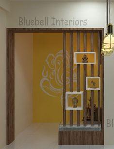 Living Room Partition Design, Pooja Room Door Design, Living Room Tv Unit Designs, Room Partition Designs, Bedroom Cupboard Designs, Bedroom False Ceiling Design, Home Room Design, Temple Design For Home, Home Entrance Decor