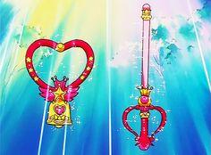 """クリスタル・カリヨンとカレイド・ムーン・スコープ  Crystal Carillon and Kaleido Moon Scope - """"Sailor Moon"""" series"""