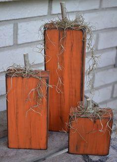 adornos halloween en madera reciclada #respetandoalplaneta #cuidandoalplaneta #CuidandoAlPlaneta