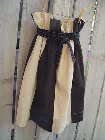 THE SEWING DORK: Easy Paper Bag Waist Skirt for Women