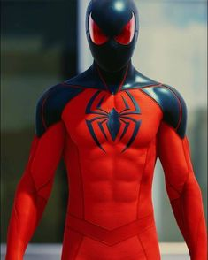 No automatic alt text available. Marvel Comics, Comics Anime, Marvel Heroes, Spiderman Suits, Spiderman Art, Amazing Spiderman, Comic Book Characters, Marvel Characters, Scarlet Spider Kaine