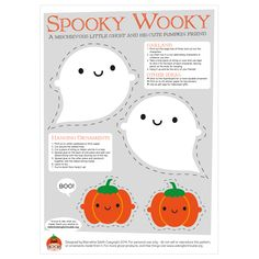 Halloween Ghost Garland Kawaii Printable