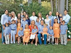 Find out how the #Romney #family stays connected (Mitt and @Ann Romney have 18 grandkids!).