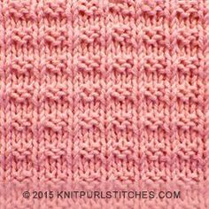 Easy to follow and suitable for beginners. The Ridge Rib stitch is a combination of knit, purl stitches  |  http://knitpurlstitches.com