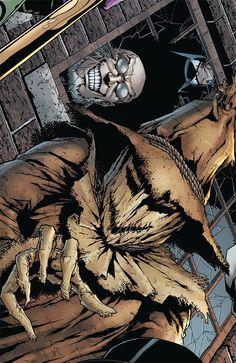 Our Lady of Hysteria Scarecrow Batman, Scary Scarecrow, Scarecrow Costume, Bob Kane, Batman Universe, Comics Universe, Gotham Villains, Creepy Pictures, Arkham Asylum