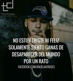 Anuel Aa Quotes, Poetry Quotes, Best Quotes, Qoutes, Bunny Quotes, Cute Spanish Quotes, Quotes En Espanol, I Hate My Life, Baddie Quotes