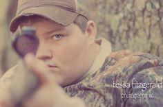 Senior portrait. Love the scope pics!!