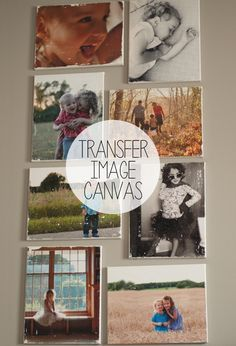 How to Transfer Photos Onto Canvas. Canvas is a beautiful medium onto which paintings are usually drawn. But canvas is also a great surface for carrying photographs, especially photographs of friends, family, or stunning scenery. Transfer Picture To Canvas, Photo Canvas, Canvas Collage, Photos Onto Canvas, Canvas Pictures, Photo Craft, Diy Photo, Photo Projects, Diy Projects
