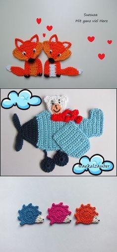 Transcendent Crochet a Solid Granny Square Ideas. Inconceivable Crochet a Solid Granny Square Ideas. Crochet Car, Cute Crochet, Crochet For Kids, Crochet Crafts, Crochet Toys, Crochet Projects, Crochet Applique Patterns Free, Crochet Motif, Crochet Flowers